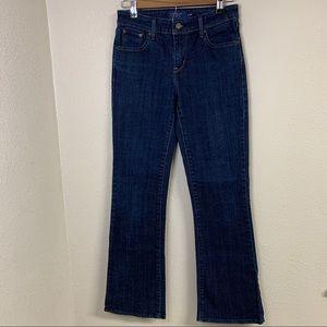Levi's Demi Curve bootcut dark wash jeans